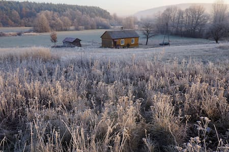 Lovely small wooden house surrounded by nature - Baszowice - Choza