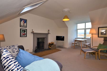 The Writers' Retreat with Views & Woodburner.