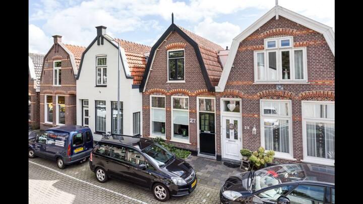 Heerlijk huis voor romantische stedentrip Alkmaar