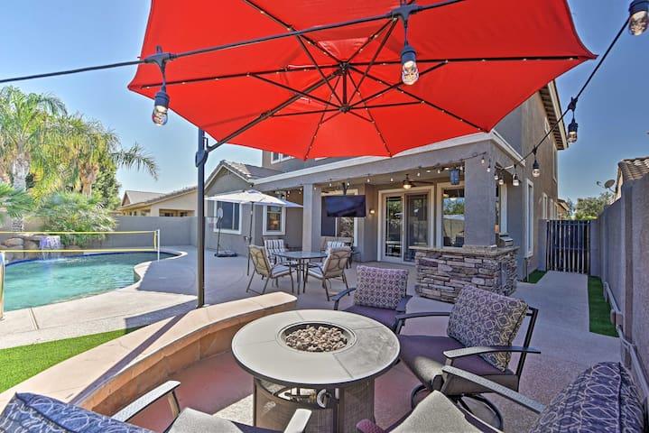 Phoenix Area Home w/ Private Pool & Fire Pit!