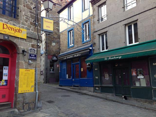 Appartement au centre historique de Saint-Brieuc - Saint-Brieuc - Huoneisto