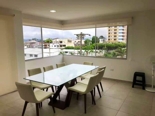 Hermoso departamento en Bahía de Caraquez
