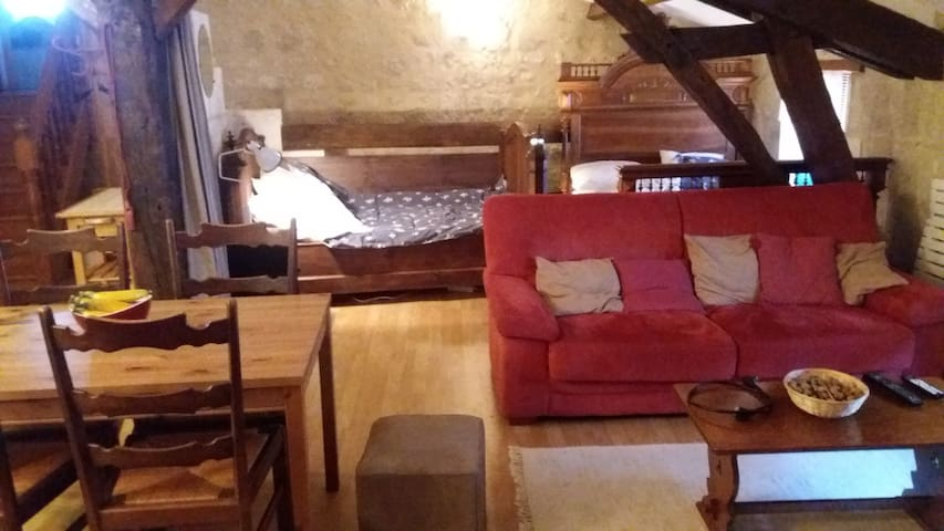 Cosy family accommodation - Aubeterre-sur-Dronne - Huoneisto