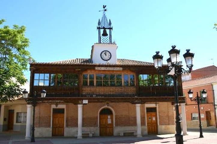 Well-located 1-bedroom flat w/ WiFi - Numancia de la Sagra - Apartemen