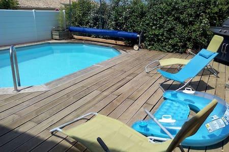 villa avec piscine sud de france-portiragnes - Portiragnes