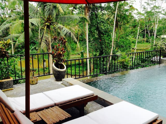 FANTASTIC OFFER! breakfast, pool, super view  - Ubud - Flat