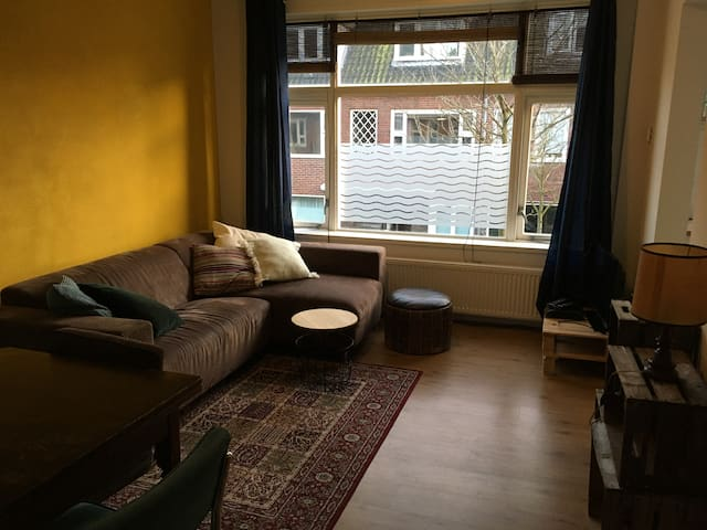 Cosy, colorful & quiet apartment near citycentre!