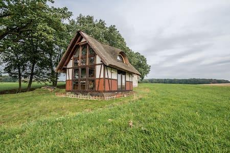 Drewniany Domek przy Starym Folwarku - Machnice - Kabin