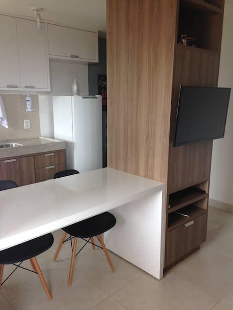 Apartamento Executivo e de Lazer