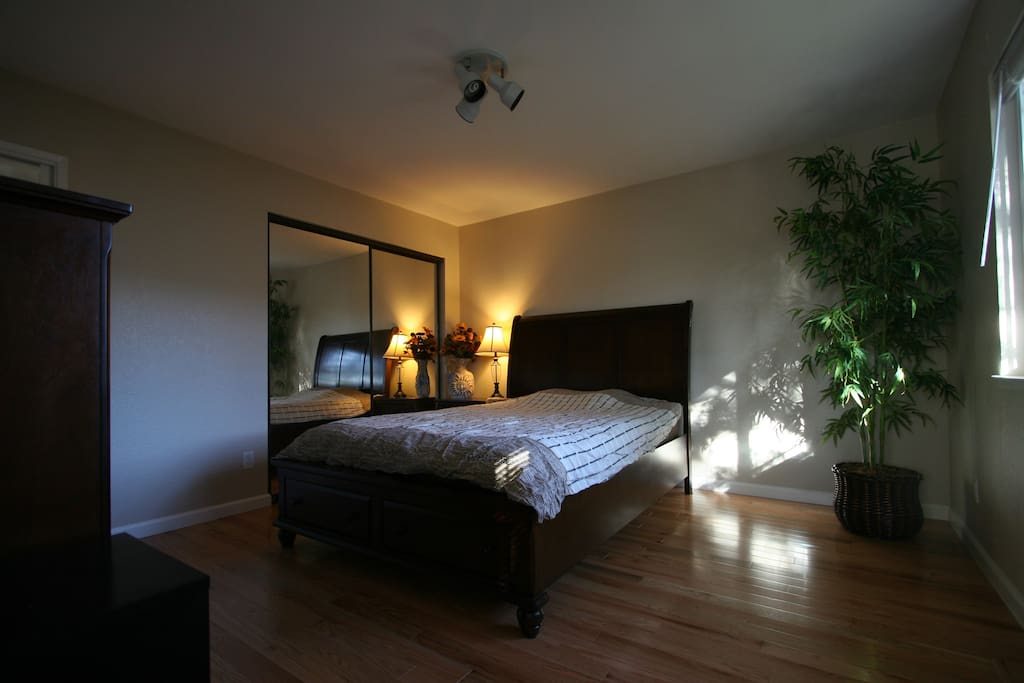 Clean furnished 1 bedroom suite houses for rent in san for Master bedroom for rent san jose