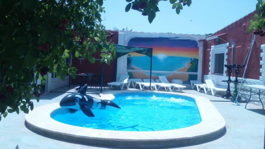 Casa campo en Sax 49 € - Sax - Villa