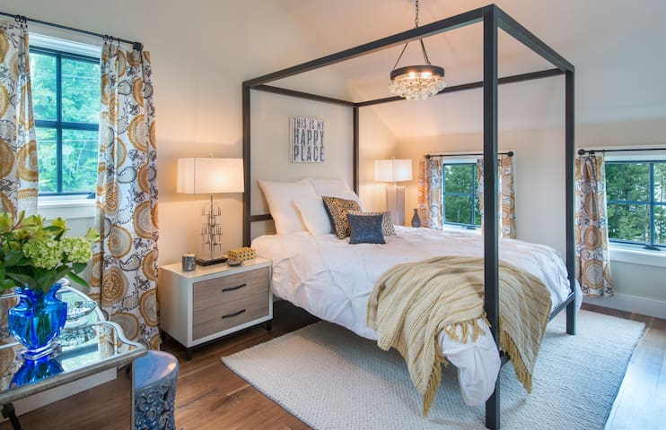 Master Bedroom with Canopy