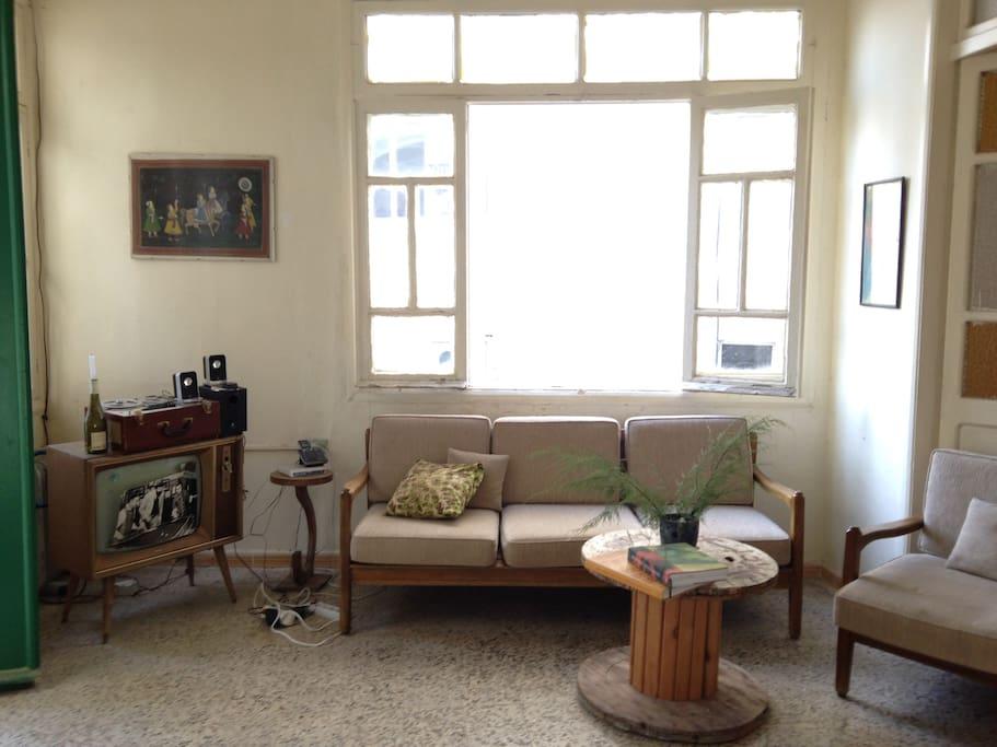 Salon area