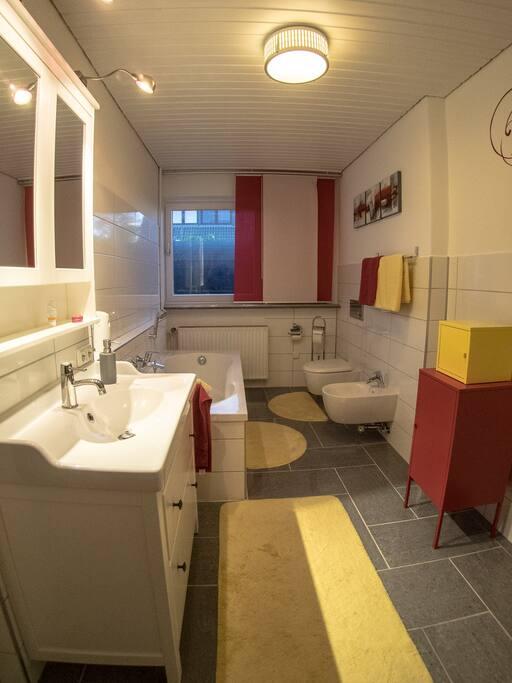 Eigenes Badezimmer Your private bathroom