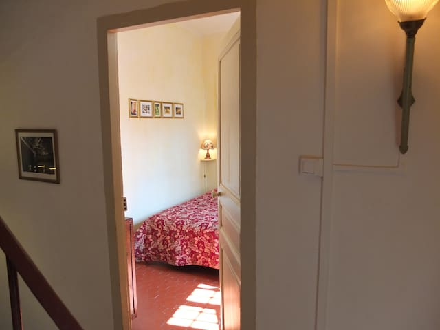 L'entrée de votre chambre