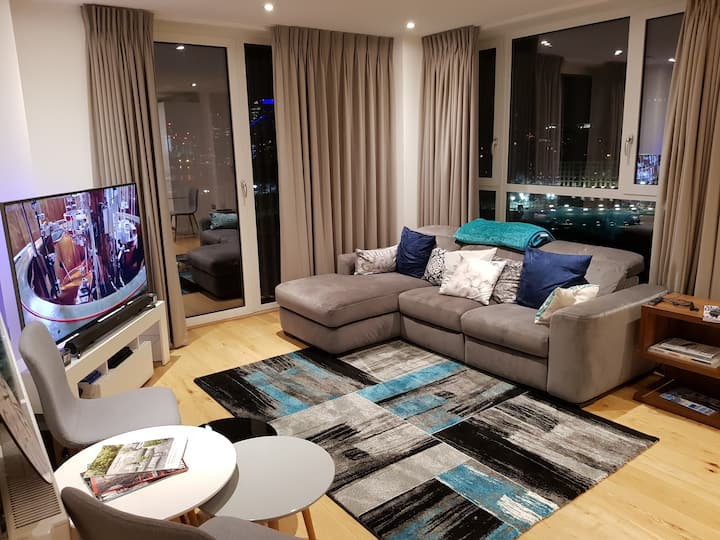 Ensuite Modern, Bright Room-ExCel, O2, CanaryWharf