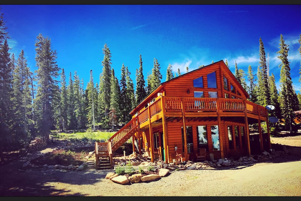 Beautiful Mountain Chalet⛰️5 Acres☀️hot Tub Chalets For Rent In Fairplay Colorado United States