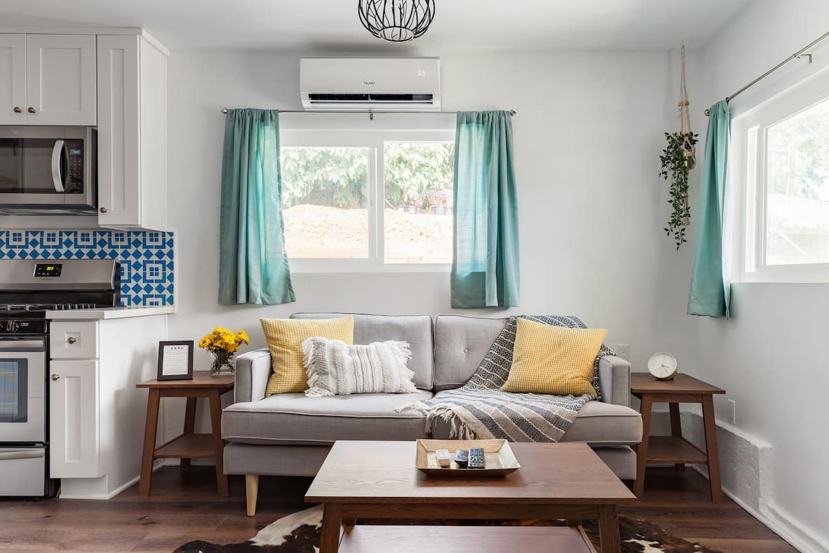 Soak up the Sunny Vibe at a Remodeled Bohemian Bungalow