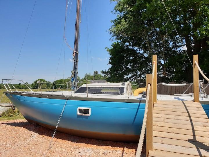 Le bateau du parc du bien être