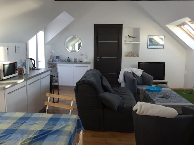 Appartement contemporain aux portes des plages