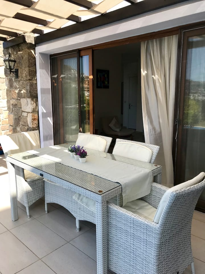 Bodrum, Gümüşlük, Private house with pool.