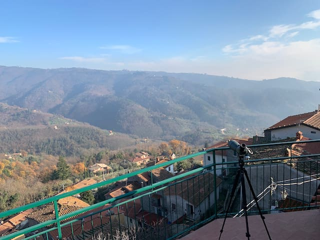 The Tuscan House with panoramic terrace
