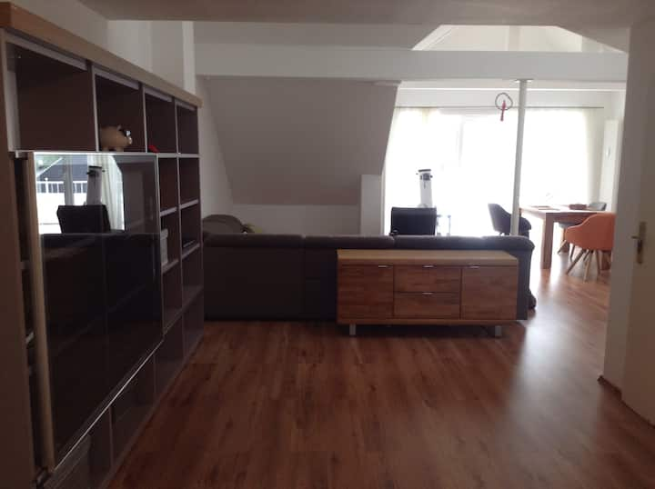 Loft, Open kitchen, two floors