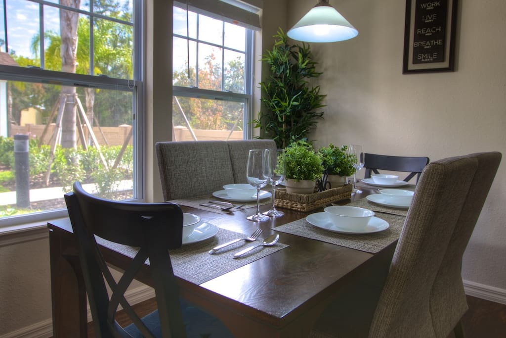 Vacation Townhome Dining Room