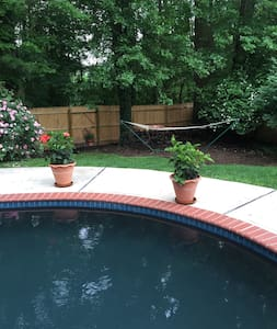 Beautiful private oasis with heated pool - Lawrence Township