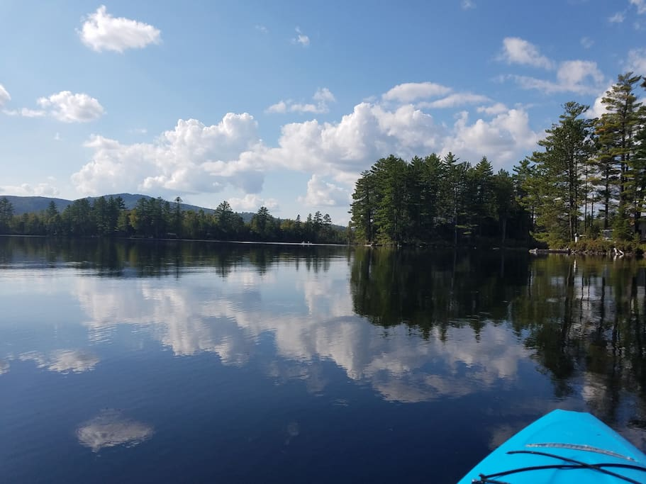 View from the kayak.