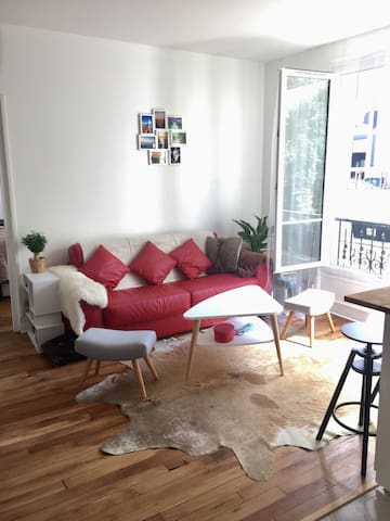 Cosy appartment of 2 rooms