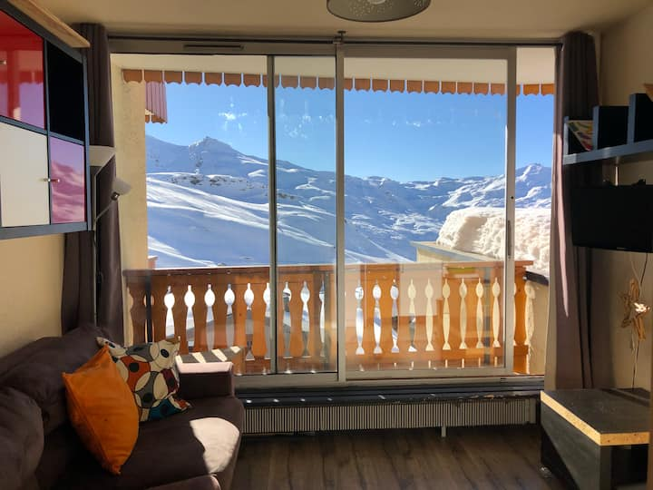 21m2 in Center of Val Thorens 4pers