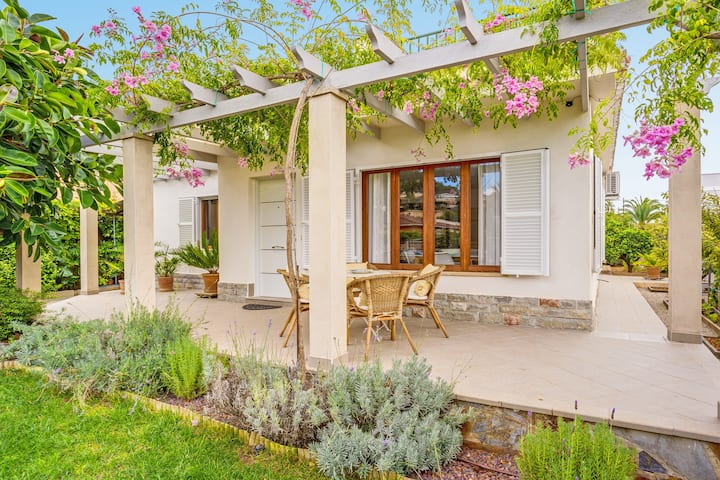 Attractive Holiday Home Lliris 29 with Air Conditioning, Wi-Fi, Terraces & Mountain View; Parking Available