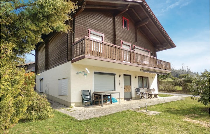 Holiday apartment with 1 bedroom on 38m² in Arrach