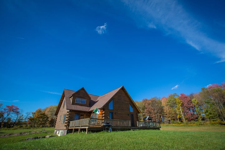 Hill Top Log Cabin
