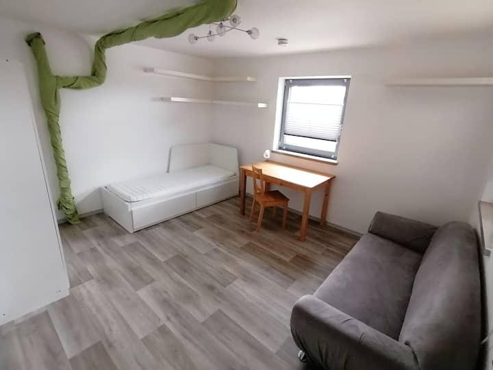 Gästezimmer im schönen Kesseltal mit Duschbad