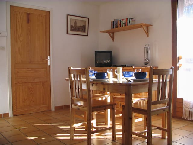 Apt 102, 6 Per,20m from piste+80m from Ski Station