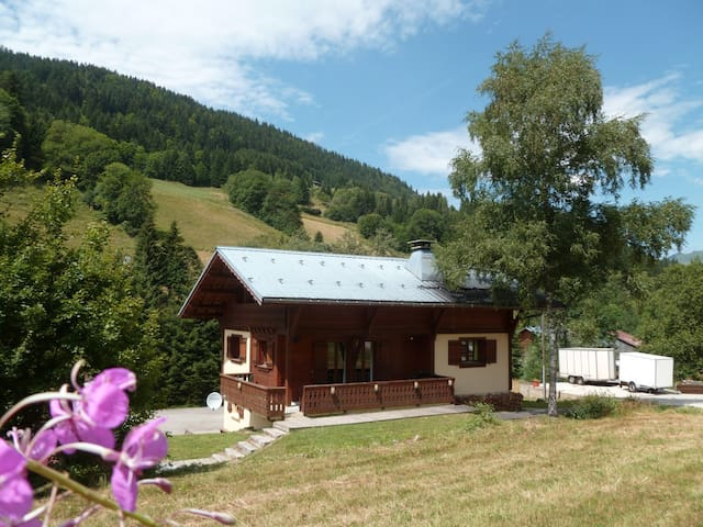 Chalet Velo- 4. Twin shared bath - Les Gets - Bed & Breakfast