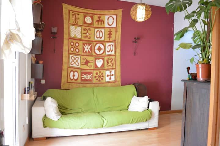 Comfortable apartment near center of Barcelona