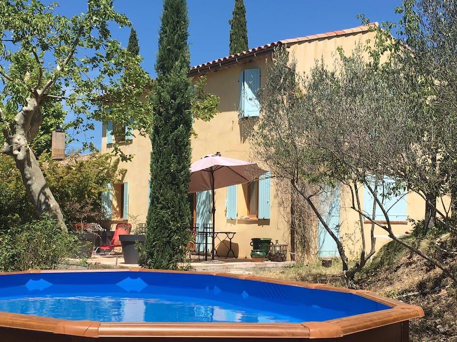 Jol e maison de vacances en provence maisons louer for Aix en provence location maison