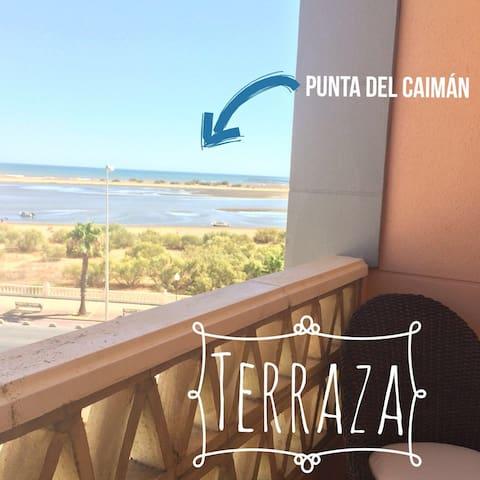 Delightful holiday in Isla Cristina. Seaside views - Isla Cristina - Appartamento