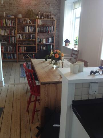 Charming 2-bedroom with rooftop terrace - København - Apartment