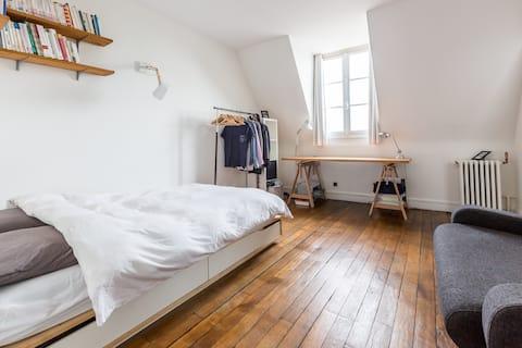 Beau Studio au coeur de Vincennes