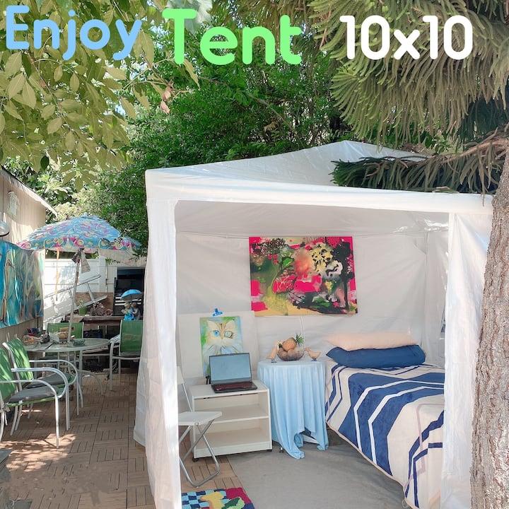 Enjoy tent!