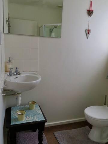 Charming compact bathroom