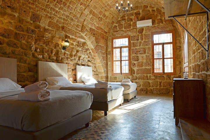 Sandstone Room in old Batroun 1317-B