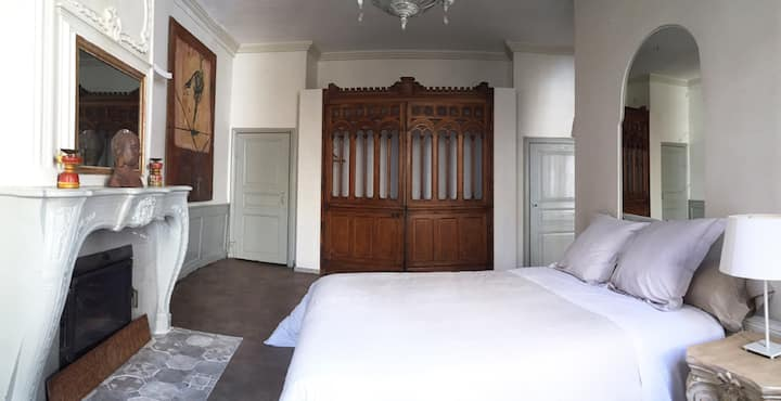Double room-Private Bathroom-Chambre Mauresque