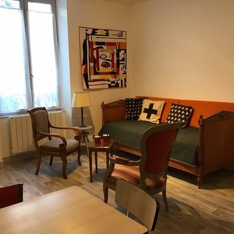 appartement confortable T2 de ville 3°étage