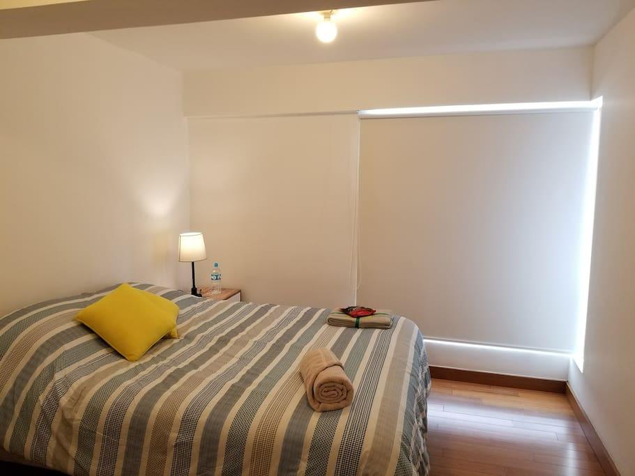 Main Bedroom with Queen Size Mattress
