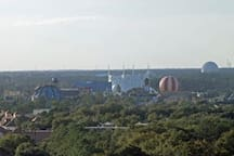 VIEWS of Downtown Disney and Epcot